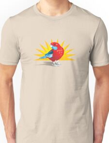Crimson Rosella Unisex T-Shirt