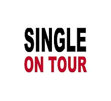 Single on tour Photographic Print
