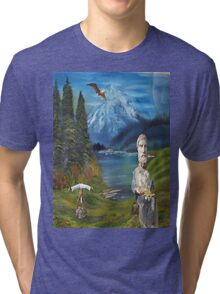 so crates Tri-blend T-Shirt