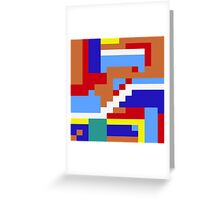 Blockwork Greeting Card