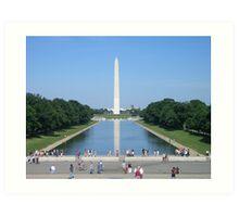 Washington Memorial Art Print
