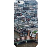 Aerial View of London #1 , England iPhone Case/Skin