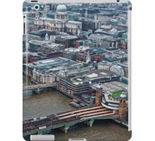 Aerial View of London #1 , England iPad Case/Skin