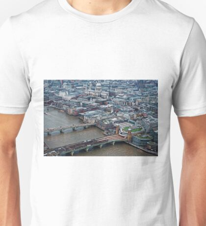 Aerial View of London #1 , England Unisex T-Shirt