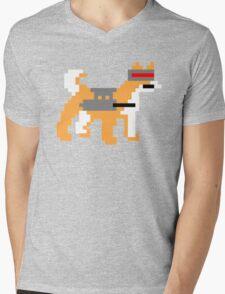 pixel doge Mens V-Neck T-Shirt