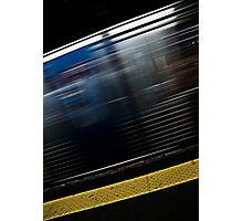 Subway Blur Photographic Print