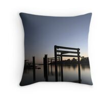 Murray River Reflections Throw Pillow