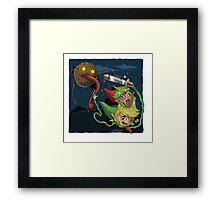 Zelda Mashup Framed Print