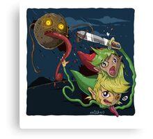 Zelda Mashup Canvas Print