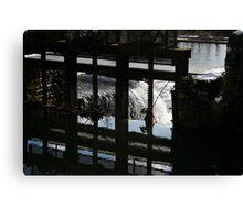 Sluice Gate Canvas Print
