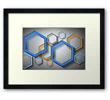 Modern Art to Hang in Your Home or Office Framed Print