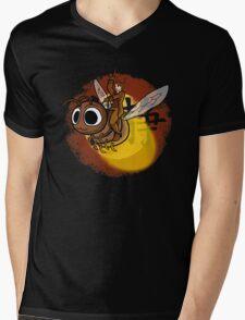 Shiny Ride Mens V-Neck T-Shirt