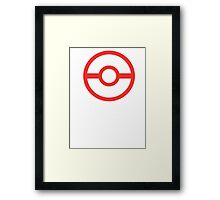 Premier Ball / Pokemon  Framed Print