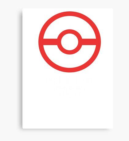 Premier Ball / Pokemon  Canvas Print