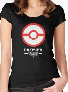 Premier Ball / Pokemon  Women's Fitted Scoop T-Shirt