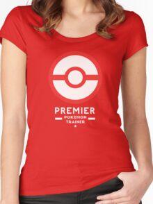 Premier Ball / Pokemon  Women's Fitted Scoop T-Shirt