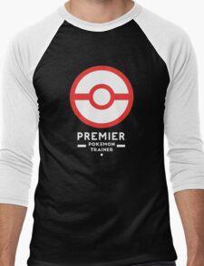 Premier Ball / Pokemon  Men's Baseball ¾ T-Shirt