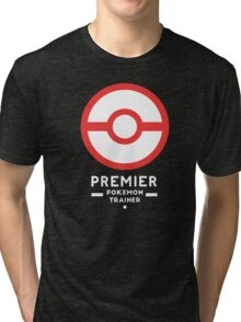Premier Ball / Pokemon  Tri-blend T-Shirt