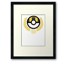 Ultra Ball / Pokemon  Framed Print