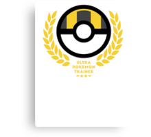 Ultra Ball / Pokemon  Canvas Print