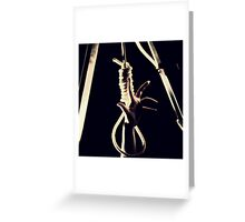 Caught Greeting Card