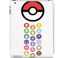 Pokemon Types  iPad Case/Skin