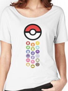 Pokemon Types  Women's Relaxed Fit T-Shirt