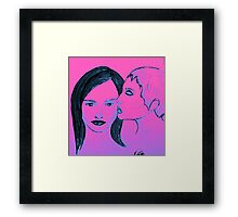 Breathe you in Framed Print
