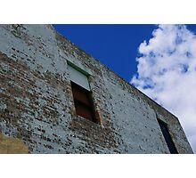 dilapidated skies Photographic Print