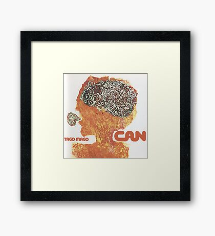 Can - Tago Mago Framed Print