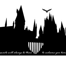 Hogwarts is our home  by kasia793