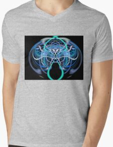 ©DA FS Random Face Approach V2D. Mens V-Neck T-Shirt