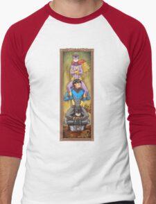 Haunted Arkham: That Sinking Feeling Men's Baseball ¾ T-Shirt