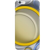 Modern Art Smart and Stylish Circles iPhone Case/Skin