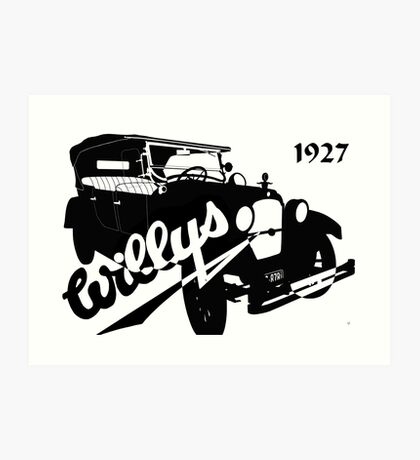 1927 Willys Art Print