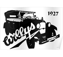 1927 Willys Poster