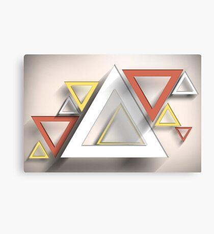 Modern Art Smart and Stylish Rectangles Canvas Print