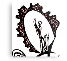 Feminine Language Metal Print