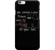 Always By Your Side iPhone Case/Skin