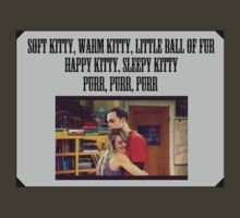 Soft Kitty - The Big Bang Theory by camvidal