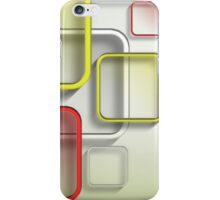 Modern Art Smart and Stylish Squares iPhone Case/Skin
