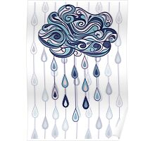 Abstract cloud Poster