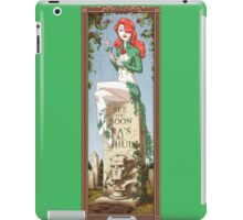 Haunted Arkham: That Girl is Poison iPad Case/Skin