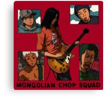 Mongolian Chop Squad Canvas Print