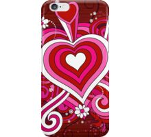 Modern Art Smart and Stylish Hearts Explosion iPhone Case/Skin