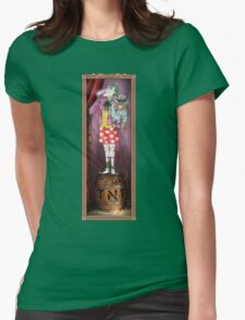 Haunted Arkham: Barrel of Laughs Womens Fitted T-Shirt