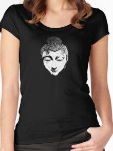 Spirit of Buddha Women's Fitted Scoop T-Shirt
