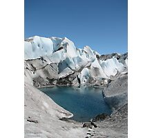 Glacier Pool Photographic Print