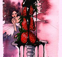 Chocolate fairy by Louise  Buss