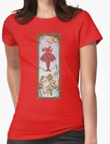 Haunted Arkham: Highwire Harley Womens Fitted T-Shirt
